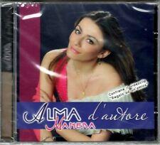 ALMA MANERA - ALMA D'AUTORE - CD NUOVO SIGILLATO RARO