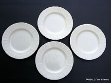 """4 pieces ~ WEDGWOOD china WILLOW WEAVE pattern ~ SALAD PLATES ~ 8"""""""