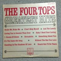THE FOUR TOPS - Greatest Hits Vinyl LP (Motown 662) Funk Soul