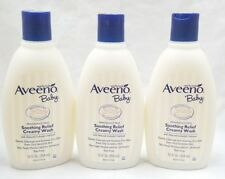 Aveeno Baby Soothing Relief Creamy Wash For Dry Sensitive Skin 12 Oz. Pack of 3
