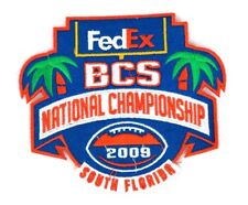 BCS FedEX National Championship Game Between Oklahoma and Florida 2009 Patch