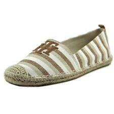 Low (3/4 in. to 1 1/2 in.) Canvas Espadrilles Medium (B, M) Flats for Women