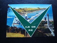 FRANCE - carte postale 1975 ile de re (cy95) french