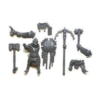 Warcry Iron Golem Signifer / Prefector - Age of Sigmar