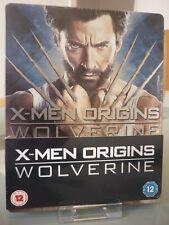 Blu ray steelbook X men origins wolverine U.K Play.com New & Sealed neuf avec VF
