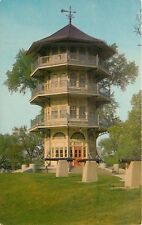 Baltimore Maryland MD Patterson Park Pagoda Cannons War of 1812 Postcard