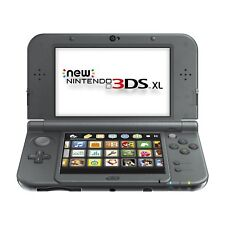 New NINTENDO NEW 3DS XL HANDHELD VIDEO GAME CONSOLE SYSTEM - BLACK