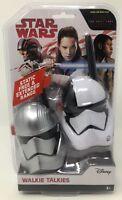 Disney Star Wars White and Silver Stormtrooper Walkie Talkies- 2 Pack