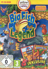 PC CD-ROM + Big Fish Legend + Jump & Run + Magic Maze + Jumpin 'Jack + win 8