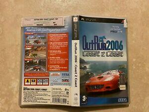 Outrun 2006: Coast 2 Coast (Sony PSP, 2006) Free Region CIB COMPLETE