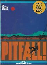 """""""PITFALL""""  NEW SEALED ATARI 5200GAME----Made by Activision  Last 1!"""