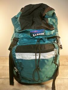 Vintage LL BEAN Top Loading Backpack Camping Book Day Bag School Knapsack Pack