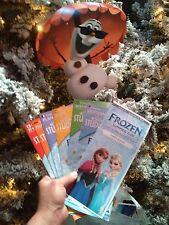 Disney Hollywood Studios Frozen Summer Fun Guide Maps and Olaf Fan