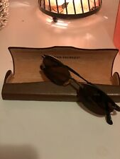 Oliver People's Sunglasses Rimless Brown