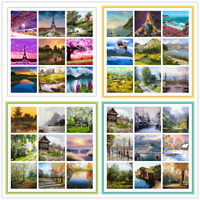 Natural Scenery DIY Paint By Numbers Kit Digital Oil Painting Artwork Wall Decor