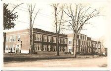 High School in Otsego MI RP Postcard