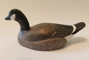 California Decoy  by Ed Snyder a mini Cackler Goose
