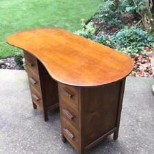 Unique Edwardian Oak Ladies Writing desk  or Dressing Table