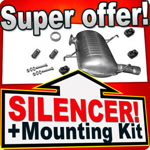 Rear Silencer for  BMW 3 E90  E91 316 318 320 1.6 1.8 2.0 Exhaust