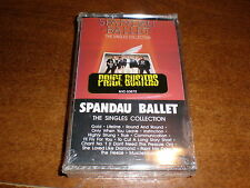 Spandau Ballet CASSETTE The Singles Collection NEW