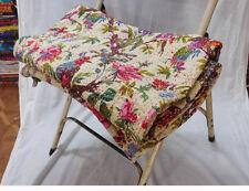 Indian Quilt Handmade Vintage Kantha Bedspread Throw Cotton Blanket Gudari Queen