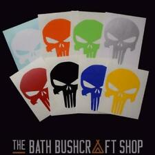 5 X PUNISHER VINYL DECALS LONG LASTING TACTICAL SURVIVAL STICKERS