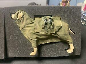ThreeA WWRp Hooded Custard Labrador Dog - NEW - 1/6 Scale Figure