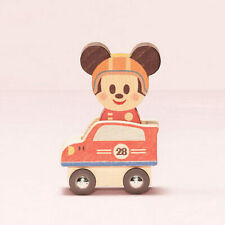 DISNEY KIDEA WOODEN TOY JAPAN COLLECTION BLOCKS MICKEY RACING SET BD24908
