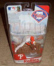 Jimmy Rollins McFarlane MLB 2010 Shortprint Phillies Pinstripe Uniform Figure!