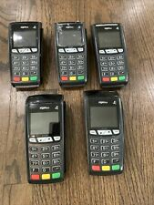 Lot of 5 Ingenico Ict250-01T1099C Credit Card Terminal Missing Cords And Covers