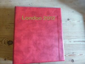 London Olympics 2012 Complete Stamp Collection In Album 244 1st Class Stamps