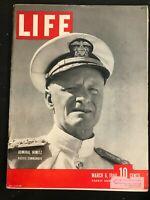 LIFE MAGAZINE - Mar 6 1944 NORMANDY INVASION PREP / Battle of Monte Cassino 1944