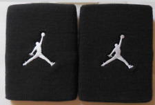 Nike Jordan Jumpman Doublewide Wristbands Black/White Men's Women's