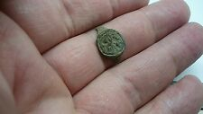 Nice Roman Bronze seal type ring part L257