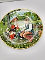"Kaiser Porcelain W. Germany Collector Plate 8 ""  Pussin Boots Gerda Neubacher"