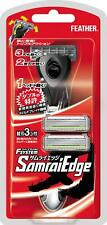 Feather shaver Samurai Edge holder with 3 replacement blades Japan limited