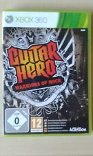 GUITAR HERO WARRIORS OF ROCK GAME ONLY GREAT MICROSOFT XBOX 360 COMPLETE PAL