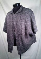 Sarah Spencer Sweater Cardigan Wool Alpaca Blend Grey Women's Size 1X