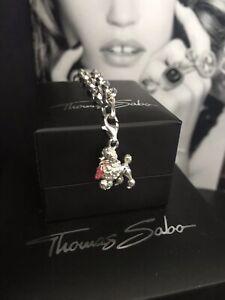 Genuine Thomas Sabo 'Barbie Dog' Pendant Charm RRP£48.95 Very Rare Retired