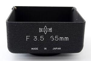 NEAR MINT Mamiya Metal Lens Shade Hood 65mm f/3.5 Lens for C220 C330 Japan A252