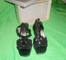 Block Heel Synthetic Sandals Casual Heels for Women