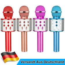 Drahtloses Bluetooth Home Mikrofon für Kinder Karaoke Mikrofon Beste Geschenke
