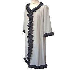 Marni Seide Mantel Kleid oder Wrap Lockere Passform Größe 8 - 12 GB > 38 er Grau £ 500 NEU