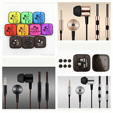 In-Ear Stereo Earphones Headphones Bass Sound With Mic For Iphones Samsung +Buds