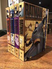 Batman The Animated Series Vol 1-4 DVD