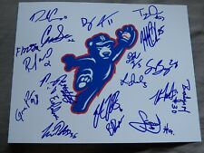 2019 South Bend Cubs Team Signed Photo Brailyn Marquez Brennen Davis Auto