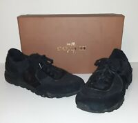 Coach Soho Runner Mixed Black Shoes Size 10