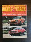Road & Track January 1975 - Datsun 280Z - Chevy Monza 2+2 - Mustang II V8