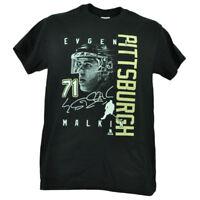 Pittsburgh Penguins Evgeni Malkin 71 Player Signature Tshirt Tee Mens Black