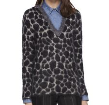 GUCCI LEOPARD EFFECT MOHAIR V NECK SWEATER JUMPER>BRAND NEW>GENUINE>£500>MEDIUM>